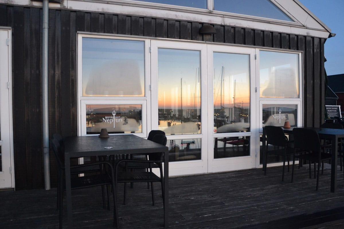 Restaurant Neptun ved Hadsund